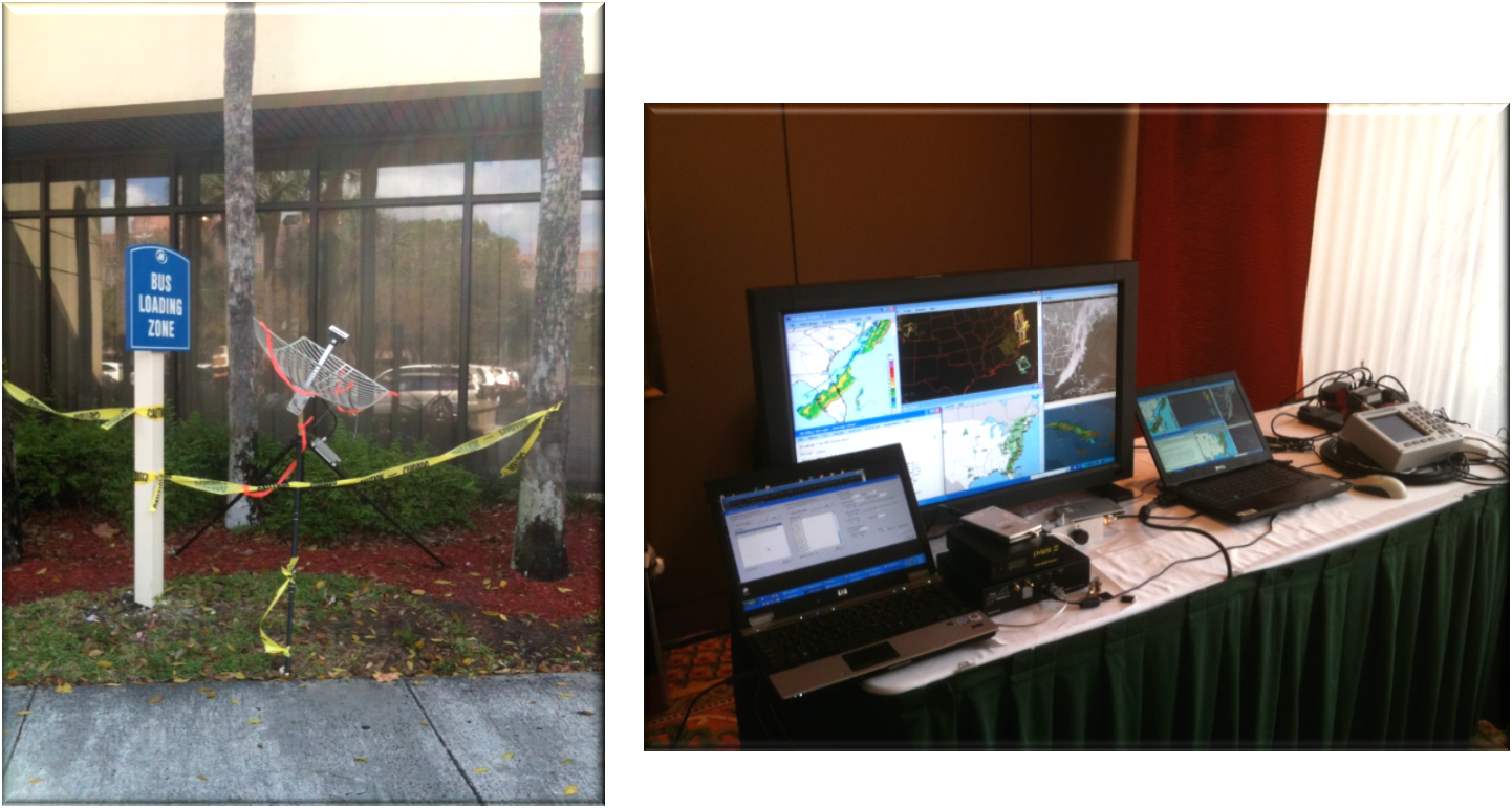 2010 NOAA Satellite Conference Receive Terminal Example